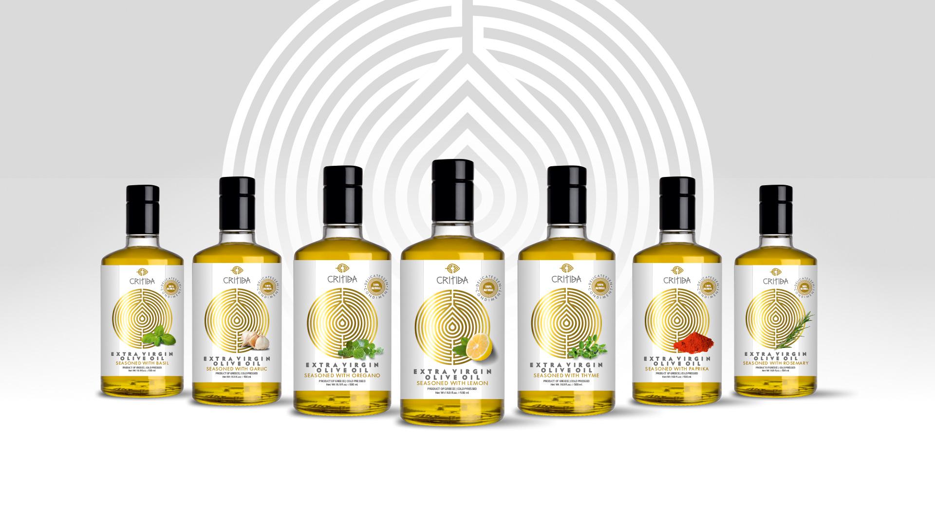 Critida extra virgin olive oil flavors