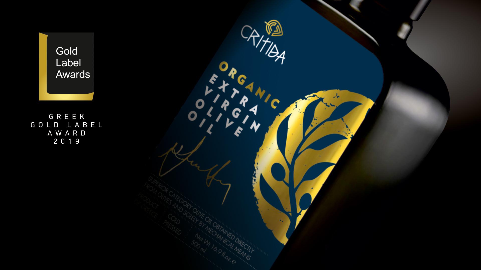 Critida Organic Extra Virgin Olive Oil