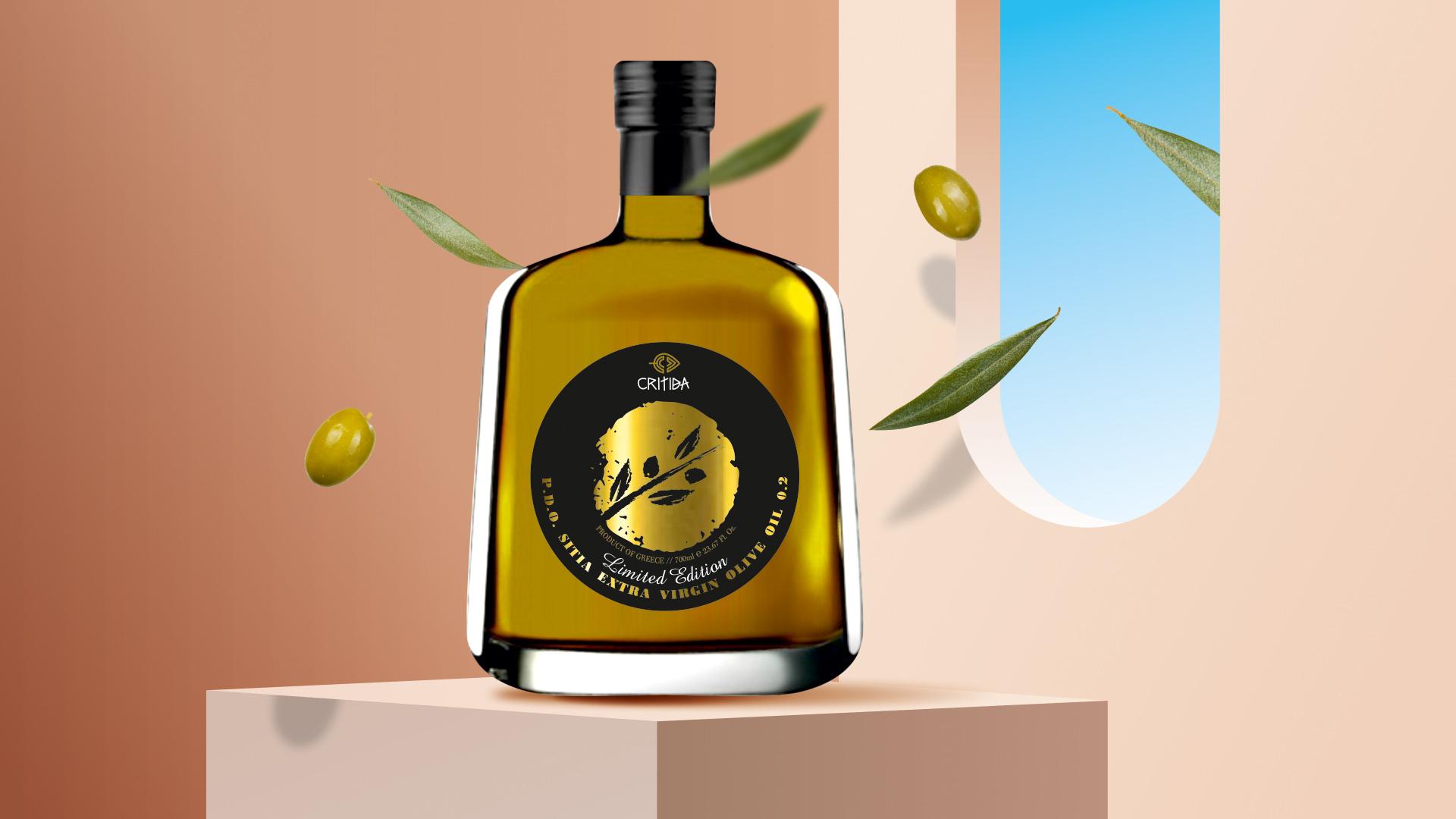 Critida PDO Sitia Extra Virgin Olive Oil