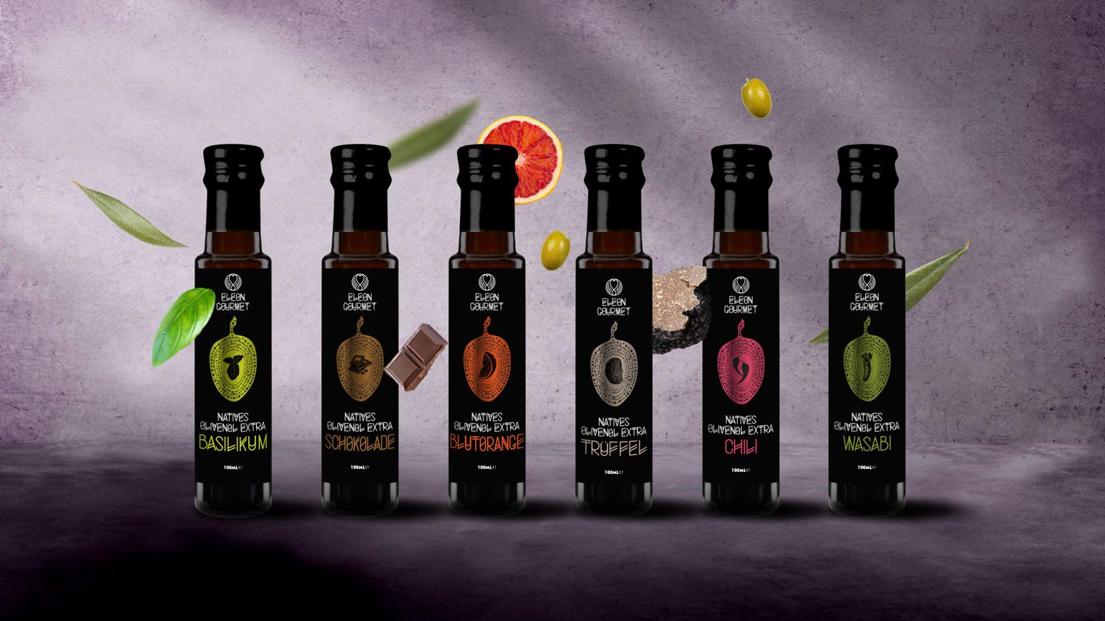 Eleon Gourmet Seasoned Olive Oils