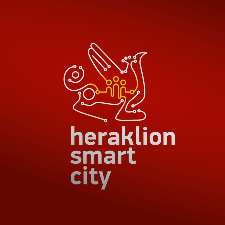 Heraklion Smart City Logo