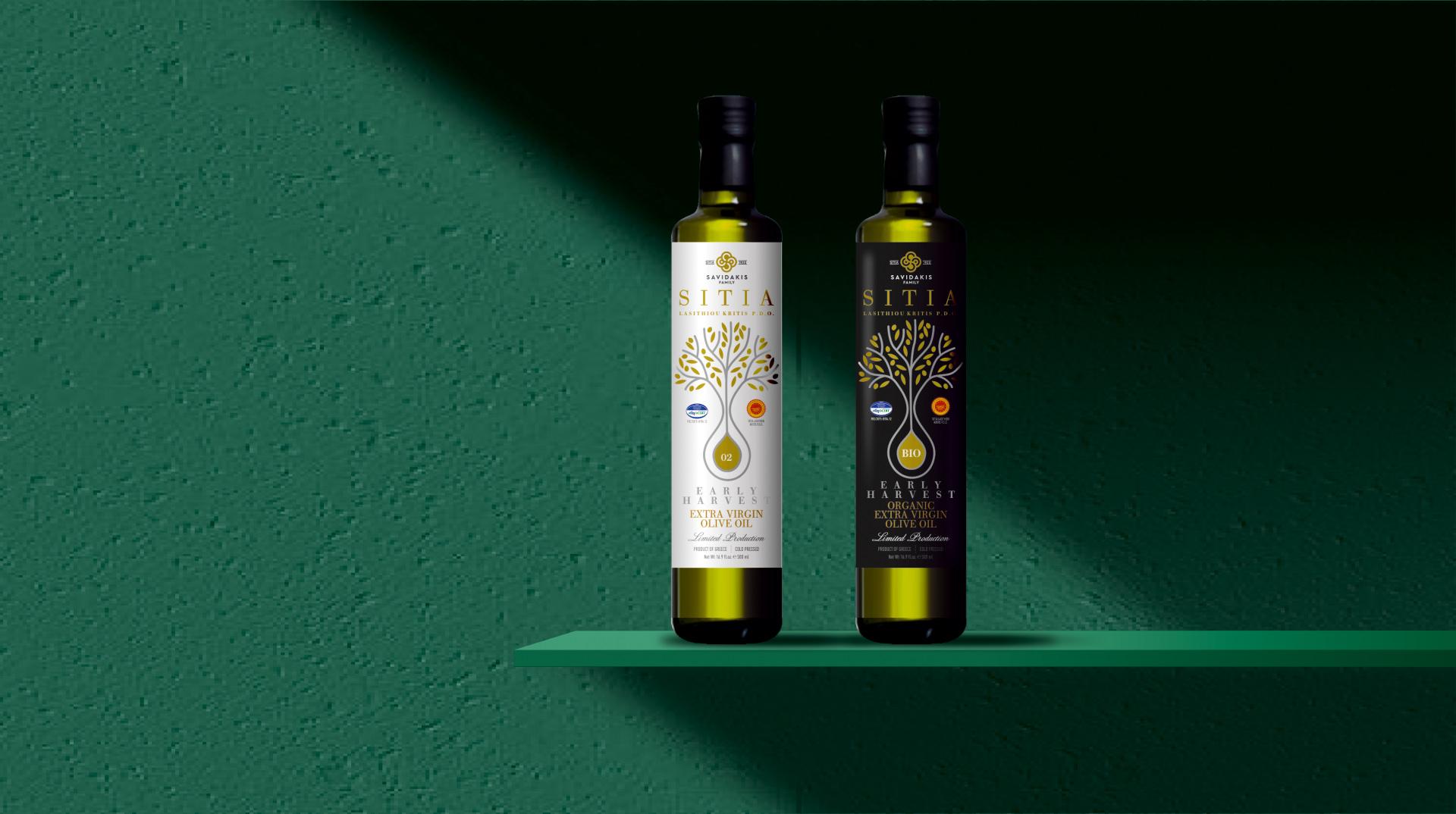 Savidakis Family Sitia Organic Extra Virgin Olive Oil